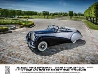 Rolls-Royce Dawn – lansare saptamana viitoare