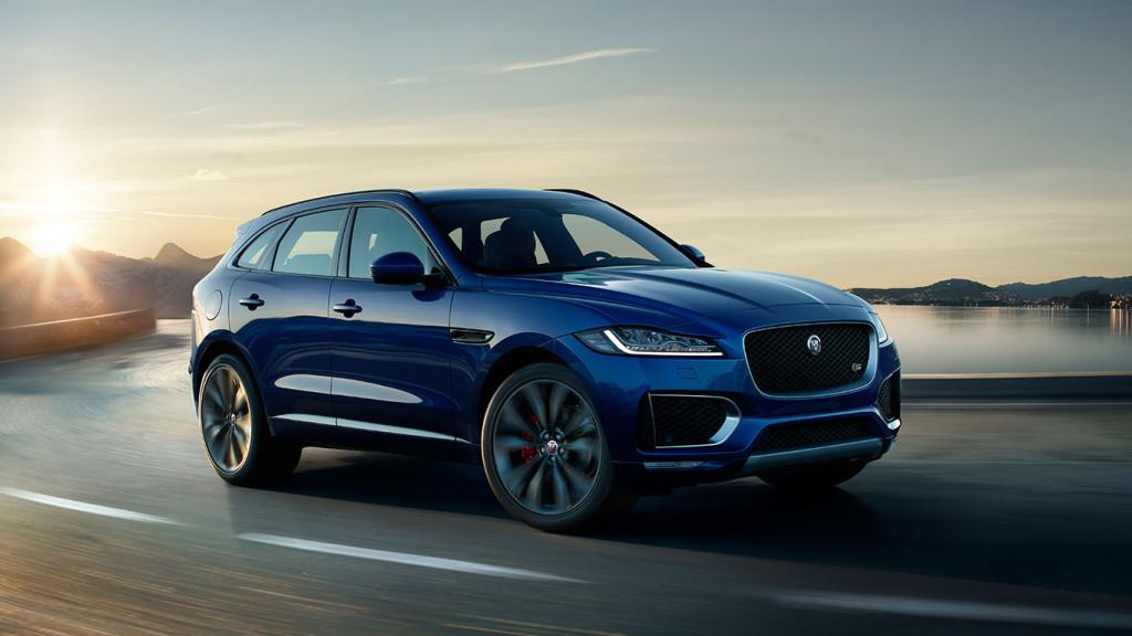 F-Pace este primul SUV de la Jaguar