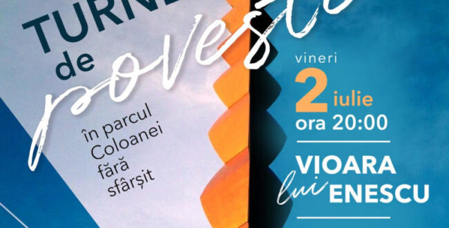 Vioara lui Enescu, pe 2 iulie, în Parcul Coloanei fără sfârşit