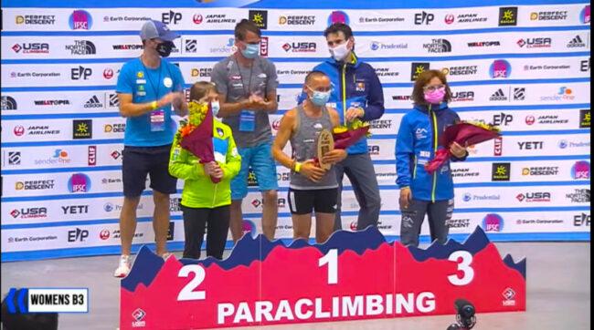 Lotul Național de Paraclimbing se întoarce cu locul 2 și 3 de la Los Angeles